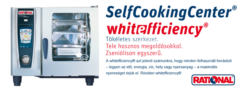 SelfCooking Center Whitefficiency